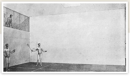 The Squash Court on the Titanic