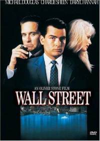 wall street michael douglas dvd cover art Resources