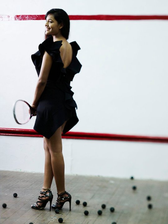 Dipika Pallikal Heels Bollywood Squash