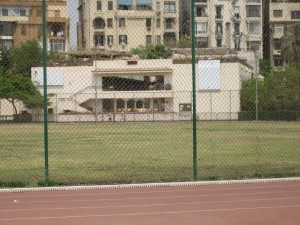 The Squash Building at Gezira Sporting Club