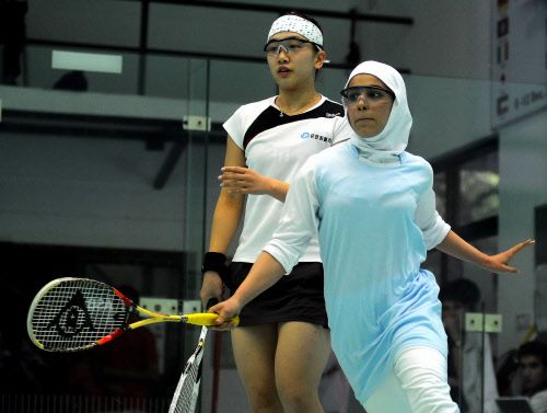 Sogol Samodi 2009 Squash in Iran: Hijab Stories