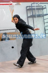 nazanin heydari 199x300 Squash in Iran: Hijab Stories 