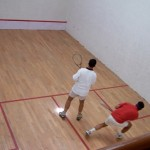 Squash at Wellington Staff College