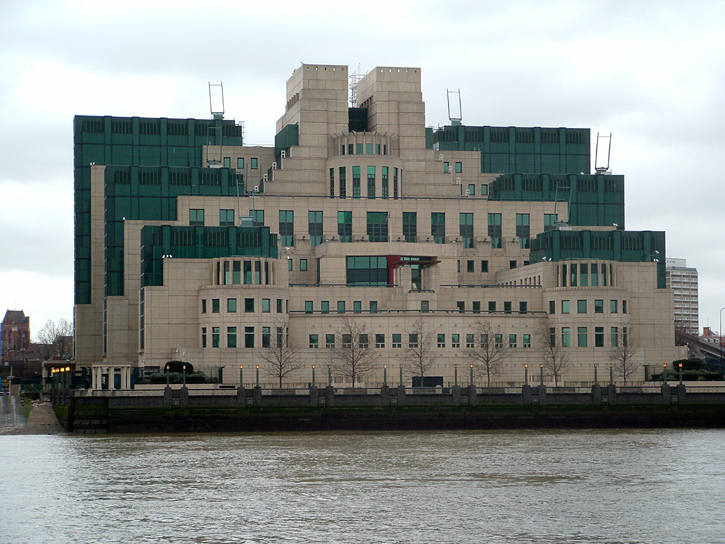 MI6 New HQ 004 Squash and the Art of Espionage