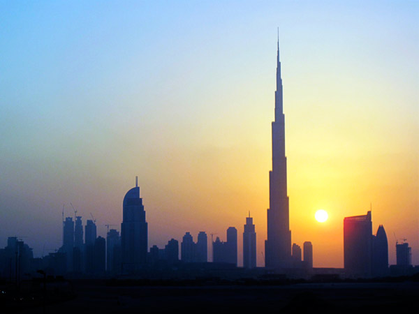 burj khalifa sunset Weston's Game (from 'The Club from Hell')