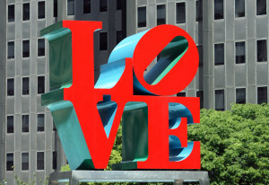 Love Sculpture Philadelphia 300x206 Brotherly Love (from the Squash Novel The Club from Hell)