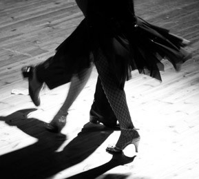 Tango feet 4 tango The Tango Dancer (from 'Breaking Glass')