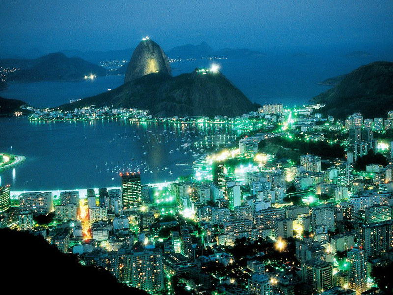 Rio de Janeiro at Night The Man in the Café Leblon (from the Squash Novel Breaking Glass)