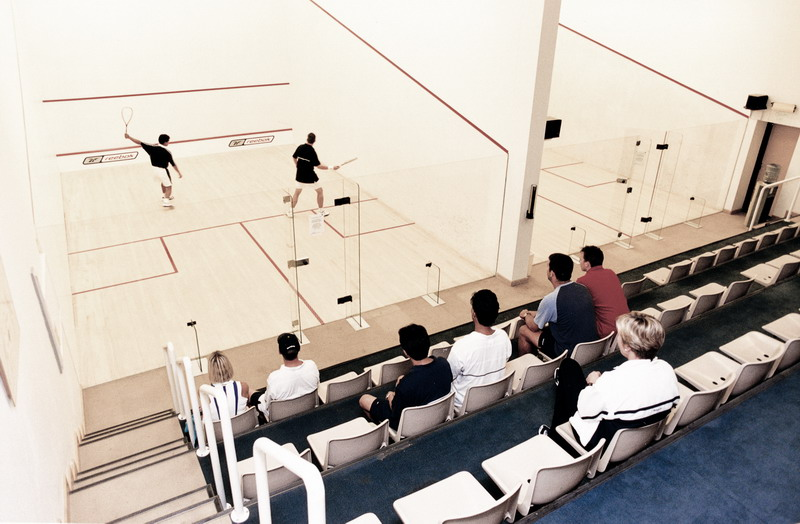 Emirates Squash Courts Monkey Business